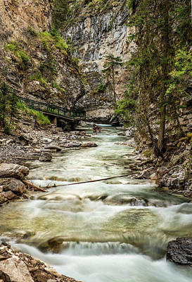 Johnston Canyon, Banff National Park, Alberta, Canada Original