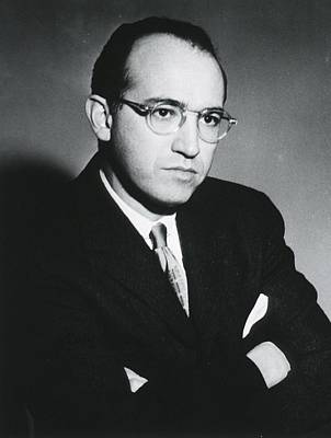 1950s Portraits Photograph - Jonas E. Salk 1914-1995, American by Everett