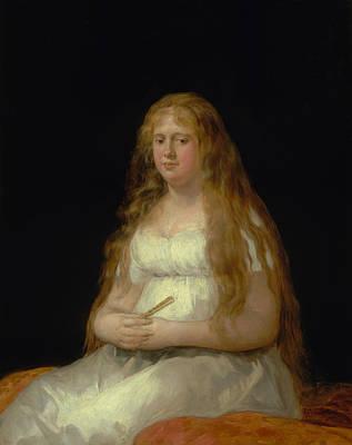 Painting - Josefa De Castilla Portugal Y Van Asbrock De Garcini  by Francisco Goya