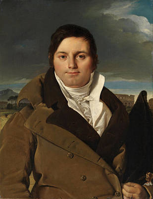 Ingres Painting - Joseph-antoine Moltedo by Jean-Auguste-Dominique Ingres