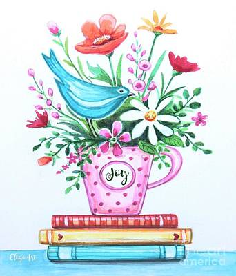 Painting - Joy  by Elizabeth Robinette Tyndall