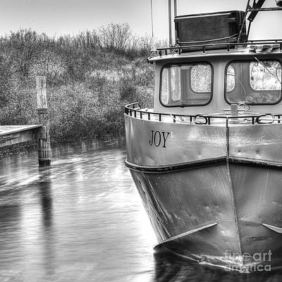 Tugboat Photograph - Joy In Leland by Twenty Two North Photography