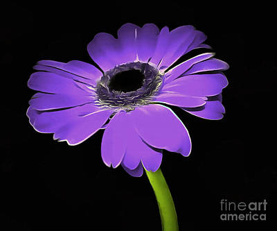 Lavender Flowers Photograph - Just For You by Krissy Katsimbras
