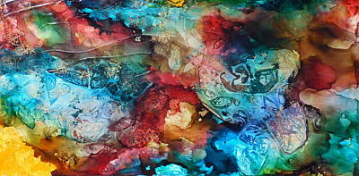 Painting - Kaleidoscope by Holly Anderson