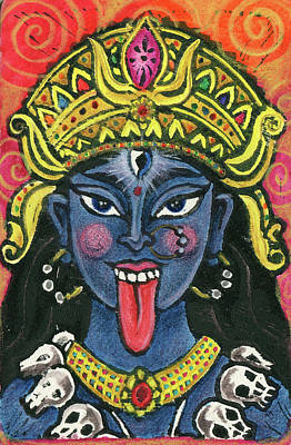 Mixed Media - Kali by Jennifer Mazzucco