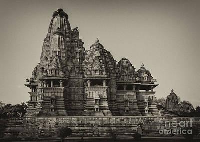 Photograph - Kandariya Mahadeva Temple by Hitendra SINKAR