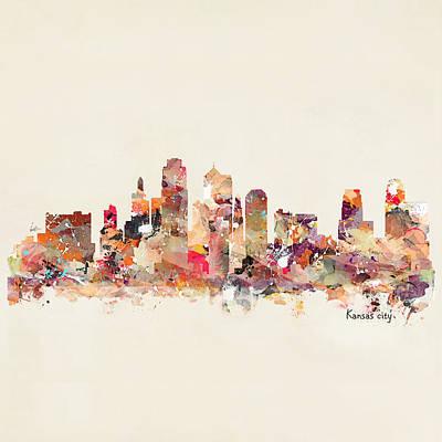 Painting - Kansas City Missouri by Bri B