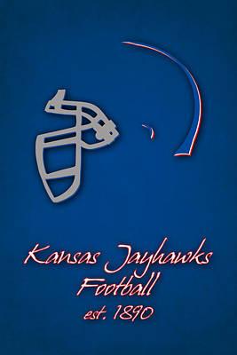 Kansas Jayhawks Print by Joe Hamilton