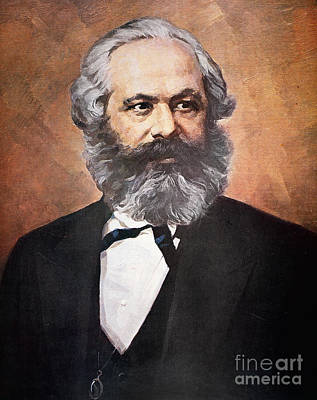 Karl Marx Art Print by Unknown