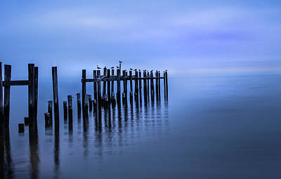 Photograph - Colorful Overcast At Twilight by James Woody