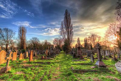 Photograph - Kensal Green Cemetery London by David Pyatt