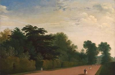 Painting - Kensington Gardens  by John Martin
