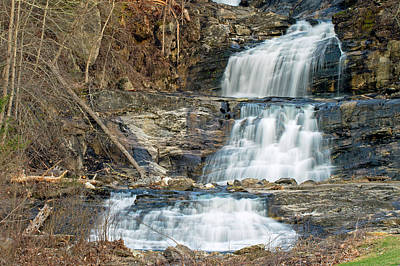 Photograph - Kent Falls by David Freuthal