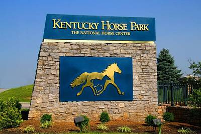 Kentucky Horse Park Art Print