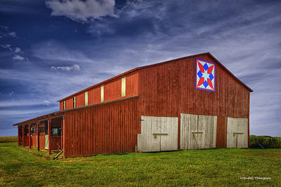 Kentucky Quilt Barn Art Print
