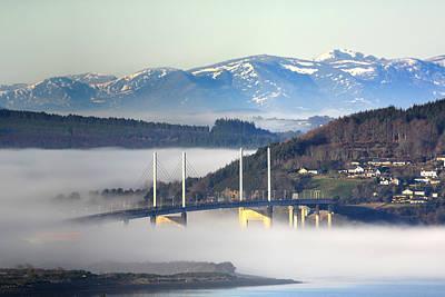 Photograph - Kessock Bridge, Inverness by Veli Bariskan