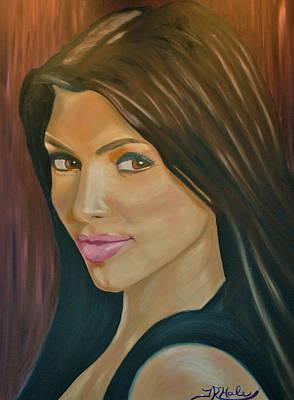 Kim Kardashian Painting - Kim by Thomas Hale