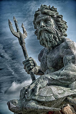 Photograph - King Neptune by Travis Rogers