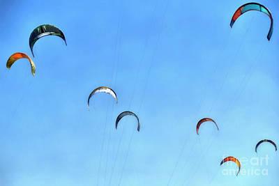 Painting - Kites In The Sky by George Atsametakis