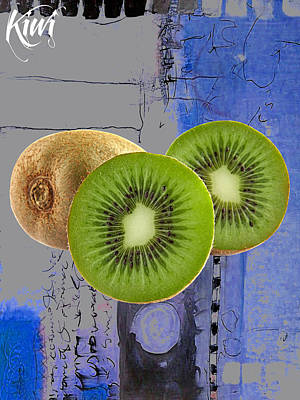 Kiwi Mixed Media - Kiwi Collection by Marvin Blaine