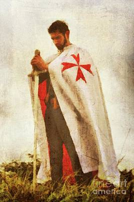 Knight Templar Art Print by John Springfield