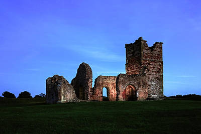 Normans Photograph - Knowlton Church - England by Joana Kruse