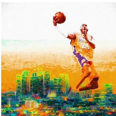 Basketball Photograph - @kobebryant #kobebryant #kobe @lakers by David Haskett