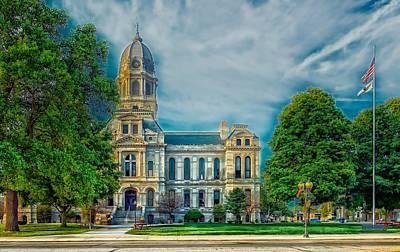 Photograph - Kosciusko County Courthouse by L O C