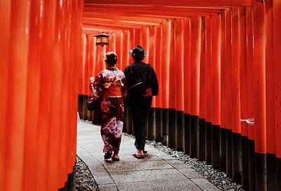 Photograph - Kyoto by David Harding