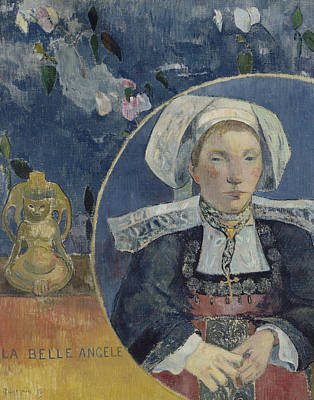 Painting - La Belle Angele by Paul Gauguin