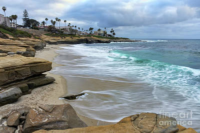 Photograph - La Jolla Shores by Eddie Yerkish