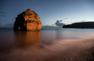 Photograph - Ladram Bay In Devon by Pete Hemington