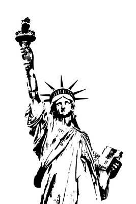 Lady Liberty Art Print by Jaroslav Frank