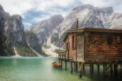 Photograph - Lago Di Braies - Italy by Joana Kruse