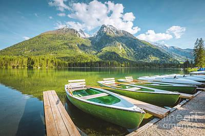 Photograph - Lake Hintersee by JR Photography
