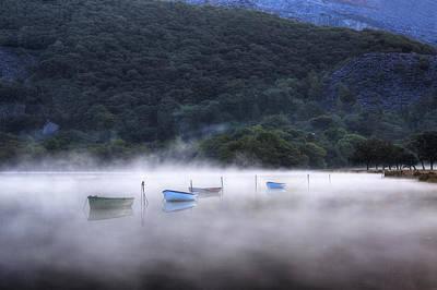 Wasser Photograph - Lake Llyn Padarn - Wales by Joana Kruse