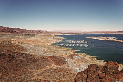 Photograph - Lake Mead by Peter Lakomy