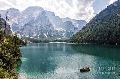 Photograph - Lake Of Braies by Pietro Ebner