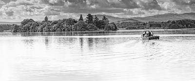 Lake Of Menteith Art Print by Jeremy Lavender Photography
