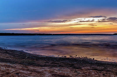 Photograph - Lake Sunset by Doug Long