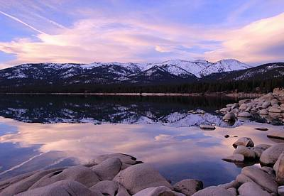 Photograph - Lake Tahoe Rocks by Sean Sarsfield