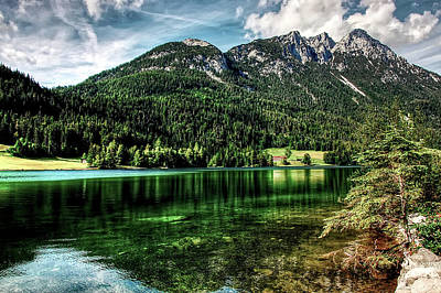 Photograph - Lakeside Reflections by Kordi Vahle