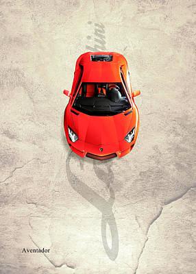 Photograph - Lamborghini Aventador by Mark Rogan