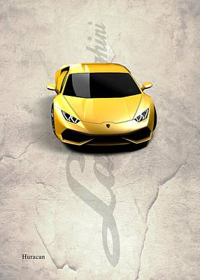 Photograph - Lamborghini Huracan by Mark Rogan