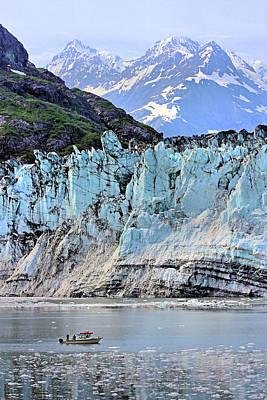 Photograph - Lamplugh Glacier by Kristin Elmquist