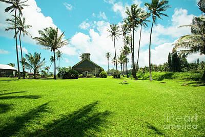 Photograph - Lanakila 'ihi'ihi O Iehowa O Na Kaua Church Keanae Maui Hawaii by Sharon Mau