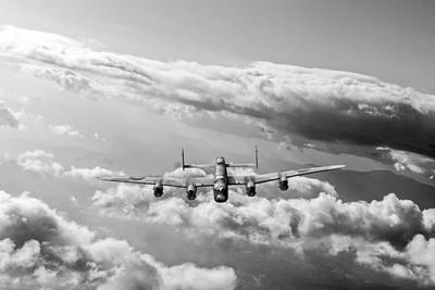 Original featuring the photograph Lancaster Sunlit by Gary Eason