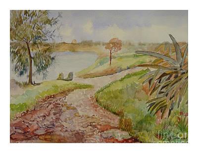 Painting - Landscape by Godwin Cassar