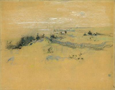 Drawing - Landscape by John Henry Twachtman