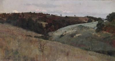Kenyon Painting - Landscape by Kenyon Cox